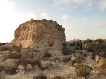 Tombeau du roi numide Syphax, grand roi des numides Massaesyles.