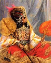 Femme Ouled Nail par Georges Clairin.