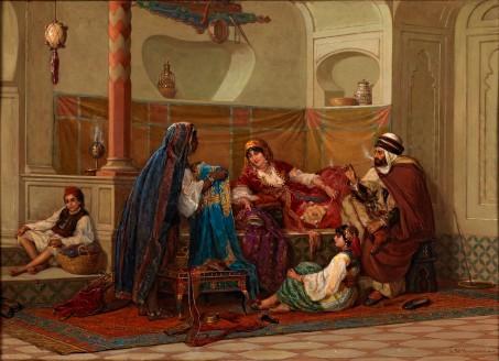 La vendeuse de caftan par Jean-Baptiste Huysmans.