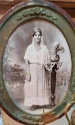 Femme de Tlemcen portant la blousa, fin du XIXe siècle.