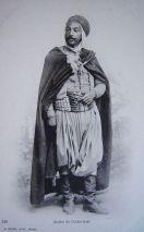 Homme algérien du XIXe siècle.