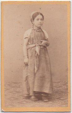 Jeune juive d'Algérie.