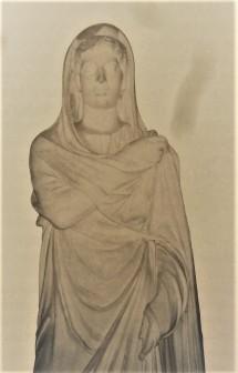Statue de Djemila, Musée national des Antiquités, Alger.