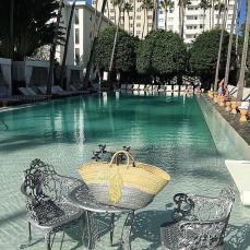 Couffin Mouima à Miami, Etats-Unis.